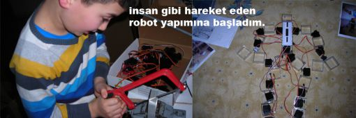 humanoid robot making